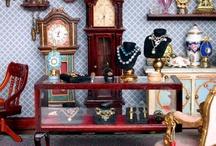 Dollhouse Miniatures / miniature dollhouse crafts / by BluKatDesign