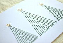 Jul - kort og papir