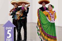 Fiesta party ideas / Mexican party ideas