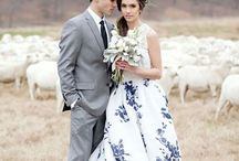 Floral Bridal Gowns