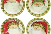 VIETRI Old St. Nick / Browse through our collection of VIETRI Old St. Nick Dinnerware, available for purchase this holiday season / by la Terrine