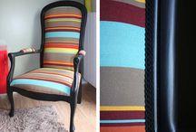 tapisserie fauteuil