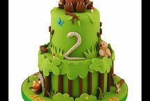 Birthday cake ideas for Alasdair / by Nicola Breach