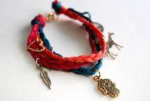 DIY Bracelets / 팔찌만들기/팔찌 디자인