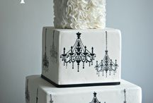 Black and white wedding inspiration / Black and white monochrome wedding inspiration