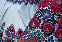 Hungarian Matyo and Kalocsai Embroidery