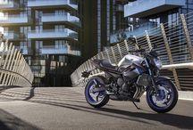 Naked / Motos de rua , com estilos esportivos , para usuários que querem o conforto de uma moto convencional com a agilidade e resposta de uma moto de corrida.