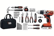 Lithium Ion Drill BLACK+DECKER LDX120PK 20 Volt MAX and Project Kit Home Tools