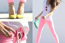 Pink is the outfit / by Match Clothes Colors