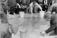 Life as an image / jews forced to scrub the streets of Vienna after Anschluss, 1938