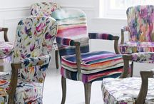 Voyage / Voyage Decoration, using their vibrant in-house design studio, are renowned for creating imaginative designs, each one hand drawn or painted by their expert team of artists. This is their Iridescence Range, available at Rodgers of York.
