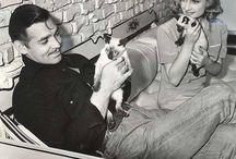 Vintage celebs n pets