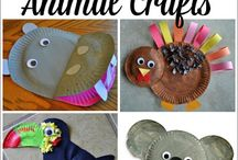 Animal crafts kindergarden