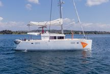 Siddhartha Catamaran / Lagoon 450 , Year 2014  Equipment: Cockpit Table , Water tank 600L, Fuel tank 1040L, Generator Onan 11 Kw, A/C, Inverter 2000W, Fans in cabins & salon, 2 Refrigerators, 1 Freezer, Watermaker, Hydraulic Gangway, Electrical Winches ( Mainsail & Manoeuvre ), Windlass Remote Control, Solar Panels 400W , Tender Highfield 310, Outboard 10 Hp, Autopilot, Bow Thruster, GPS Plotter 12''Raymarine, Radar 48 Nm, VHF, Depth sounder, Stereo System