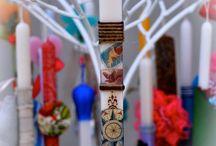 Πασχαλινές Λαμπάδες evagant / Easter candles by evagant