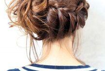 Brunes coiffures