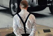 Iain Faulkner / Faulkner's paintings are concerned with the portrayal of strong and powerful images relying on visual impact as there is rarely any narrative. Buy Limited Edition Prints from Our Gallery  They are about capturing calm and contemplative moments, intimate exchanges, solitude, sometimes melancholy, heightened in their resonance by the use of chiaroscuro. Faulkner's use of this technique gives a stark contrast between the light source and the often dark tonality found in his paintings.