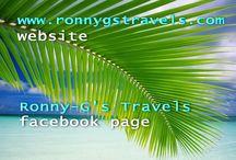 Website and Facebook Page Addresses / Website and Facebook Page addresses with descriptions of website and facebook page contents.