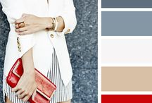 Capsule Wardrobe / Outfit ideas, capsule wardrobes, color themes