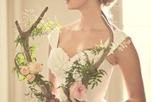 Rustic wedding - antler