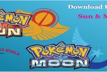 POkemon Sun and moon download and play