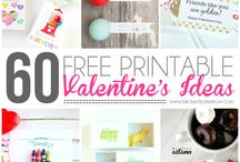 Free Printables & Fonts