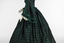 Suknie spacerowe 1850-1870 / The walking dresses