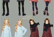 The Sims 4 children