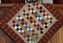 Small Quilts & Patchwork Projects / by Marcia P.