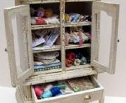 It's a small world after all / For my new dollhouse/miniature hobby / by Leilani Chacon