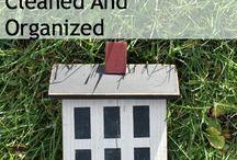 Organize my House!! / by Sugar-Free Mom | Brenda Bennett