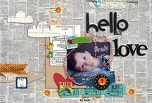 scrap booking ideas / by Jennifer Cox