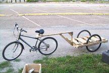 Велоприцепы / Bicycle trailer