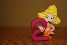 Claire's Birthday / Bubble Guppies is the theme.  / by Amanda Miller