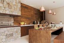 cozinha churrasqueira
