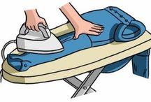 Bucato, stirare e lavare