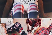Flannel and flapjacks