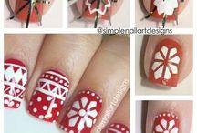 Nail Art Christmas / Arte en las uñas