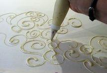Textiles..batik ideas