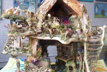 Fairy Houses & Elf Forts / Inspiration and Ideas for Building Fairy Houses and Elf Forts with the kids!
