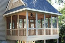 Screened porch / by Becca Moss