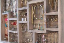 Accessory Storage ideas / by 3SHAHS Jewellery