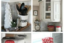 Winter Decor Ideas / Inspiration for Decorating your Kitchen during the Holidays