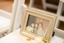 Wedding Remembrances of Loved Ones / Ways to remember the people you love at weddings