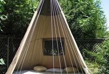 Outdoor sleeping / Tents/hammocks