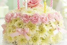 Pretty flower arrangements