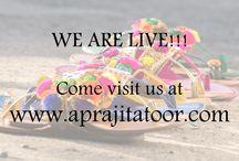 Aprajita Toor - Website / We are live. Come visit us at www.aprajitatoor.com