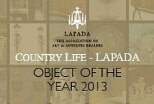 The Final Shortlist. / The 5th Annual Country Life - LAPADA Object of the Year | www.lapada-object-of-the-year.com | #OOTY13
