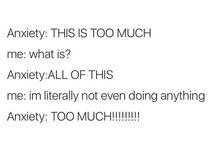 anxiety humor