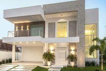 fachada para casa